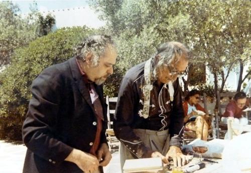 Joan Abelló i Salvador Dalí