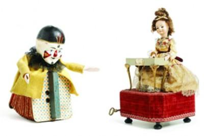 Les joguines de la col·lecció Abelló