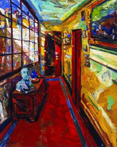 El passadís de l'estudi del meu mestre, Joan Abelló