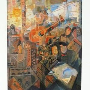 El músic del tren, Joan Abelló