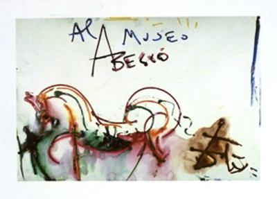 Cartell promocional Museu Abelló, Salvador Dalí