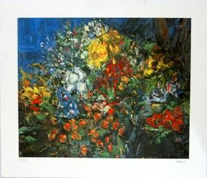 Litografia. Flors, Joan Abelló