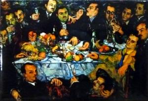 El sopar dels amics, Joan Abelló