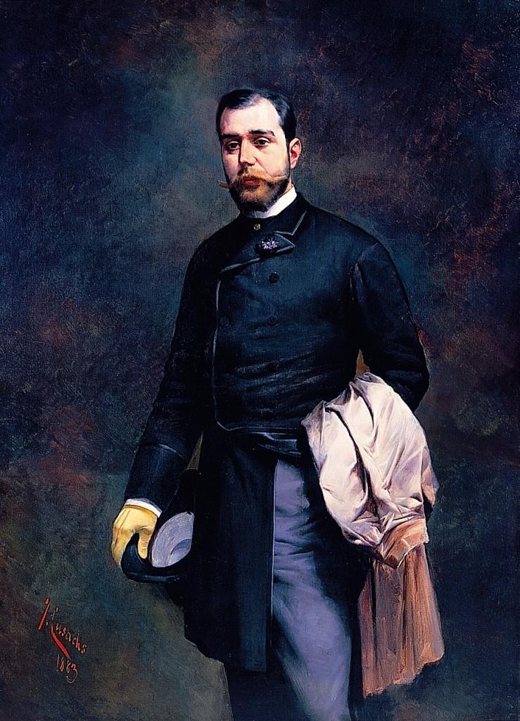 Retrat del fill de l'artista, Josep Cusachs