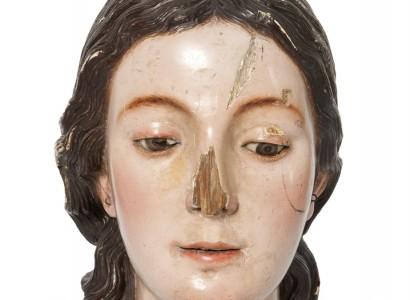 Cap de la Verge del Roser, Pedro de Mena